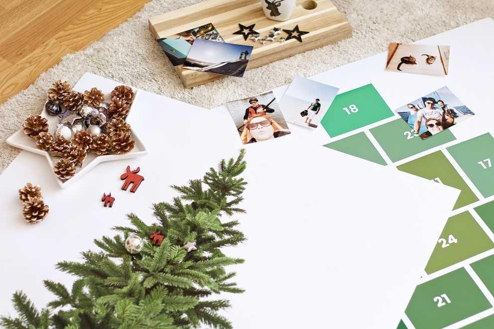 Weihnachtsbaum Service.Ein Foto Poster Weihnachtsbaum Als Kreative Alternative Ifolor