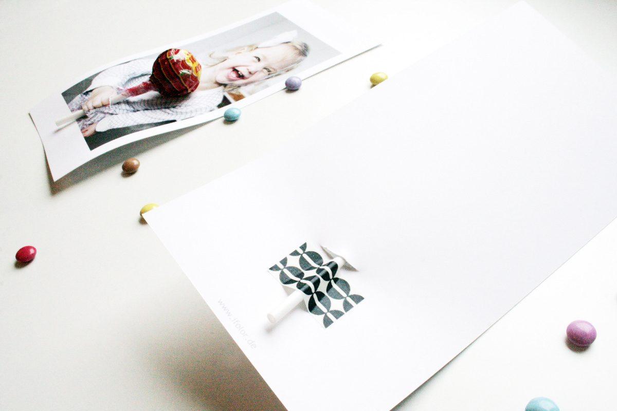 Süsse Grüsse: Lollipop-Karte für kleine und grosse Freunde | ifolor