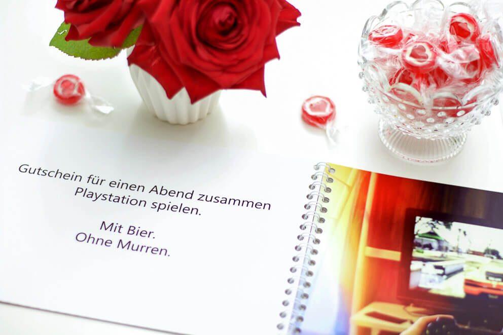 Valentins Gutscheinbuch – individuelle Liebesgutscheine verschenken ...