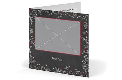 gru karten gefaltet quadratisch online erstellen ifolor. Black Bedroom Furniture Sets. Home Design Ideas