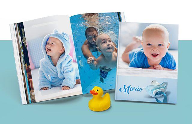 Einzigartige Fotoprodukte deiner schönsten Babyfotos | ifolor